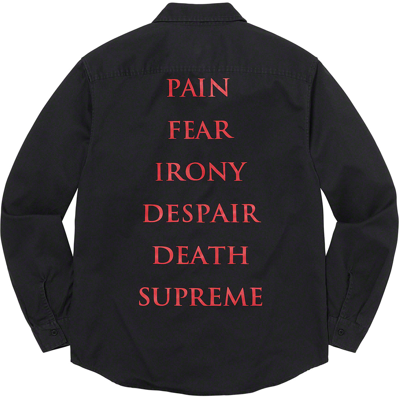 supreme-the-crow-21aw-21fw-collaboration-release-20210918-week4-work-shirt