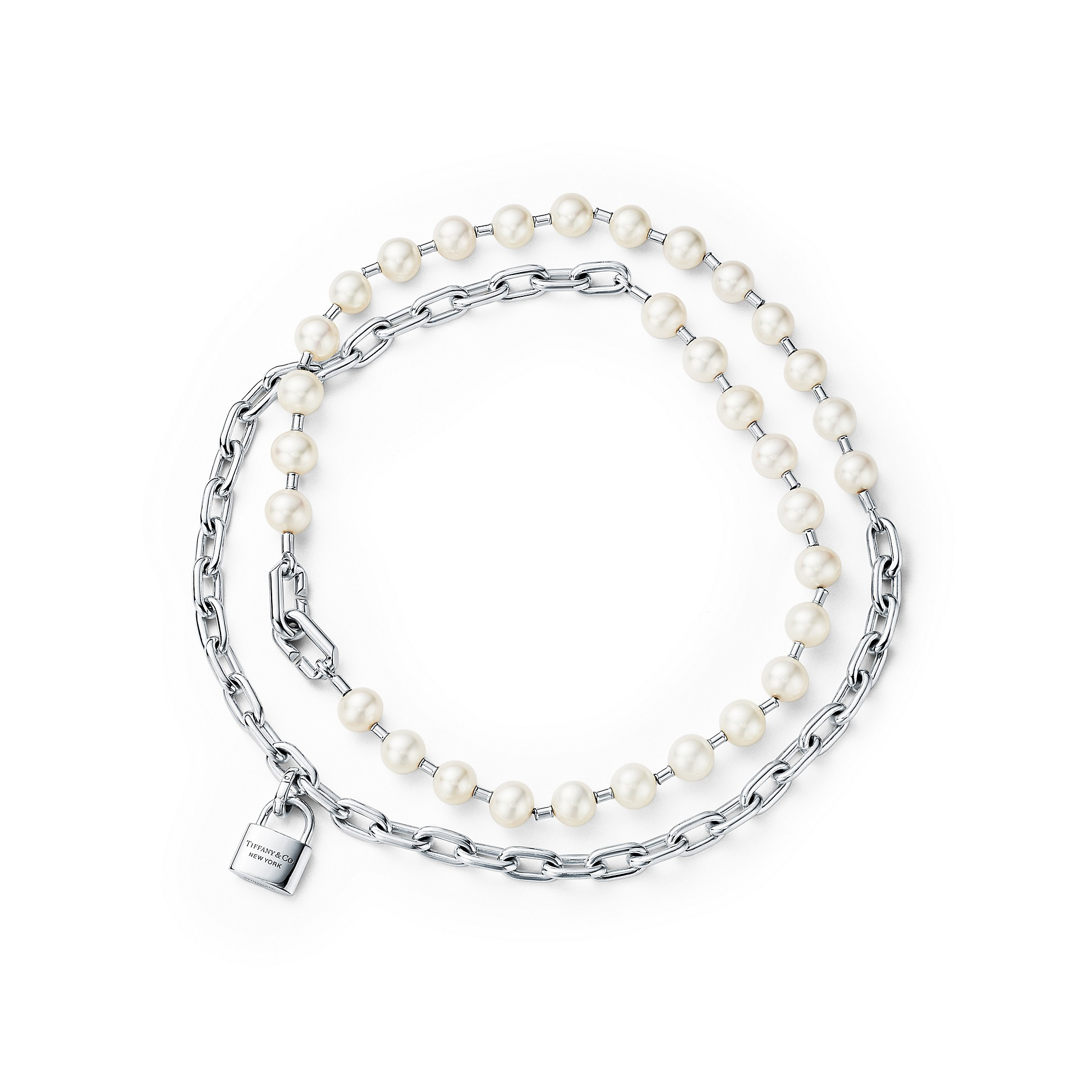 tiffany-and-co-pearl-lock-necklace