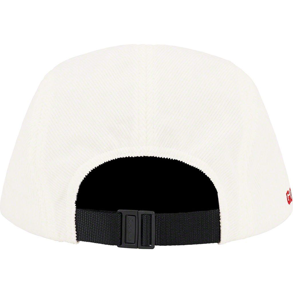 supreme-21aw-21fw-gore-tex-corduroy-camp-cap