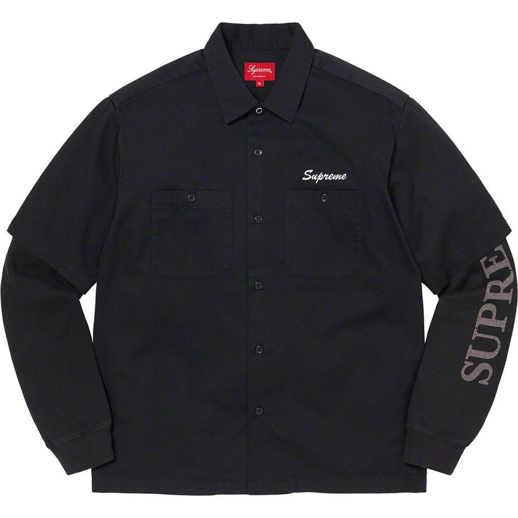 supreme-21aw-21fw-thermal-work-shirt