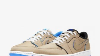 NIKE SB × AIR JORDAN 1 LOW DESERT ORE/ROYAL BLUEが12/6、12/9に国内発売予定