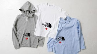 PLAY COMME des GARCONS × THE NORTH FACE PLAY TOGETHERが8/28に国内発売予定