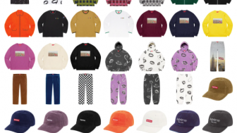 Supreme 公式通販サイトで11月14日 Week12に発売予定の新作アイテム【Aerialのアイテムなど】