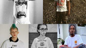 STUSSY ブランド設立40周年 WORLD TOUR コラボTシャツが11/20に国内発売予定