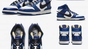 AMBUSH × NIKE DUNK HIGH DEEP ROYALが5/18に国内発売予定
