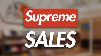 Supreme 20AW 新春セールが1月9日に店舗で開始予定【セール対象商品など掲載中】