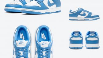 NIKE DUNK LOW UNC UNIVERSITY BLUEが5/3、5/6に国内発売予定【直リンク有り】