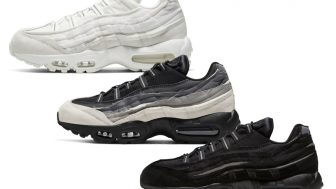 COMME des GARCONS HOMME PLUS × NIKE AIR MAX 95が2/7に国内発売予定