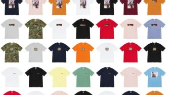 Supreme 公式通販サイトで10月12日 Week7に発売予定の新作アイテム【VANS、秋の新作Tシャツなど】